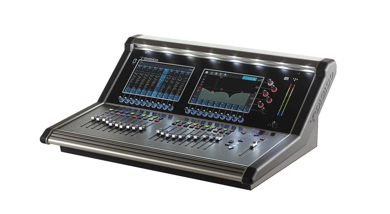 DiGiCo S21 Rack Pack Touring with DMI B x 1, DMI Blank x 1 (X-S21-D2C-C-RPT)  - -  Call or Email for (LOWER) D.O'B. Sound Pro Price