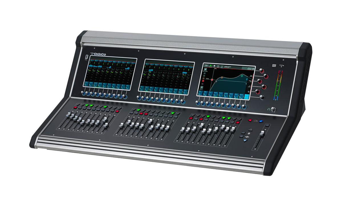 DiGiCo S31 Digital Console (X-S31-WS) --  Call or Email for (LOWER) D.O'B. Sound Pro Price