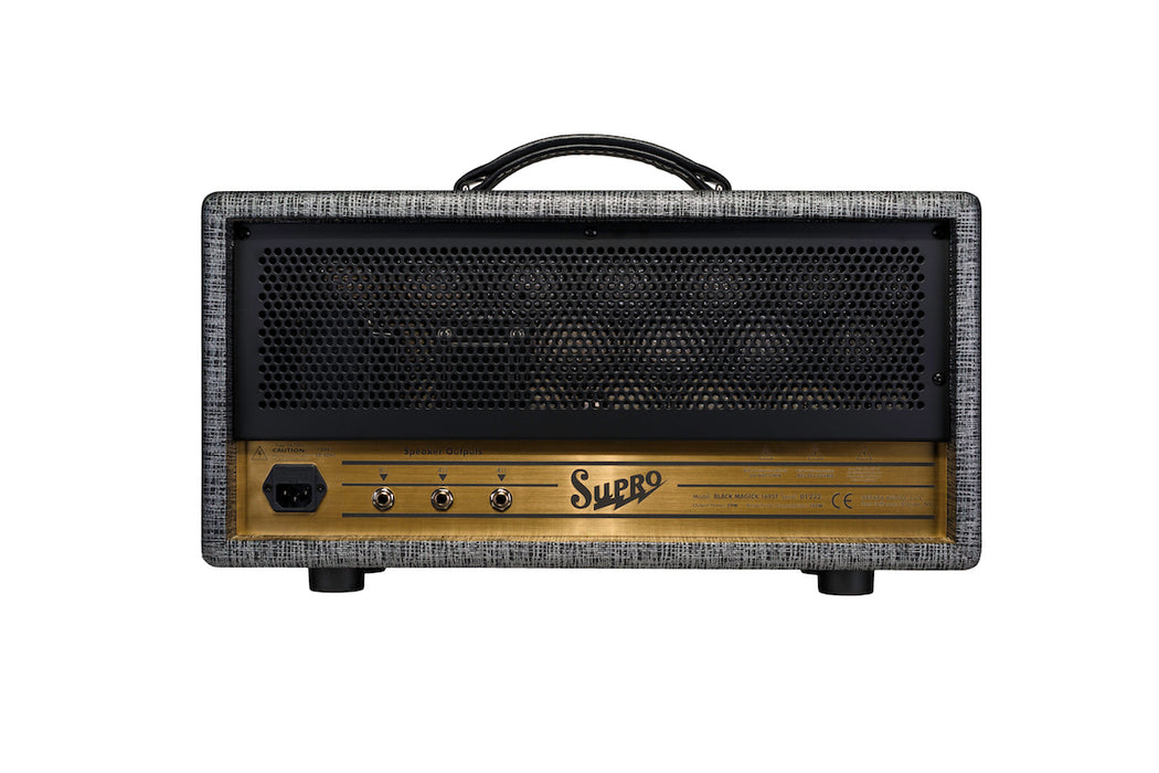 Supro 1695TH Black Magick 25-watt Class A Tube Head