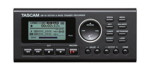 Tascam GB-10 Guitar Bass Trainer Recorder