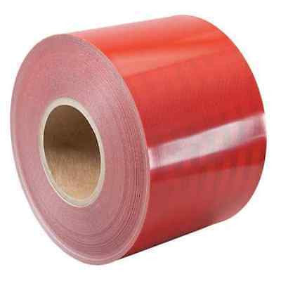 "3M Engineer Grade Prismatic Reflective Sheeting (3432) 18"" x 50 yards RED"
