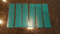 "3M 6 STRIPS 1.5"" x 8"" GREEN PRISMATIC REFLECTIVE CONSPICUITY TAPE - US Safety Supplies"