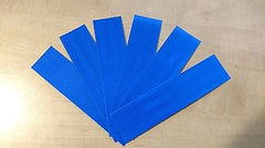 "3M 6 STRIPS 1.5"" x 8"" BLUE PRISMATIC REFLECTIVE CONSPICUITY TAPE - US Safety Supplies"