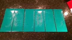 "3M Avery 6 Strips 3"" x 6"" GREEN REFLECTIVE PRISMATIC CONSPICUITY TAPE - US Safety Supplies"