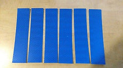 "3M 6 STRIPS 1.5"" x 6"" BLUE PRISMATIC REFLECTIVE CONSPICUITY TAPE - US Safety Supplies"