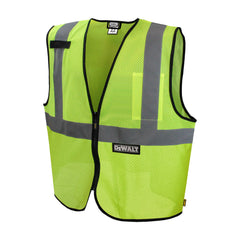 DEWALT DSV220 Reflective Class 2 Safety Vest ANSI / ISEA 107 HI VIS - US Safety Supplies