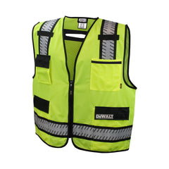 DEWALT DSV621 Class 2 Standard Surveyor Vest ANSI / ISEA 107 Hi Vis - US Safety Supplies