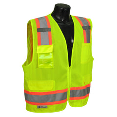 RADIANS SV6-2ZGM SAFETY VEST - ANSI Two Tone Surveyor Class 2 Safety Mesh Vest - US Safety Supplies
