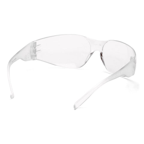 PYRAMEX SAFETY S411OST INTRUDER Safety Glasses, CLEAR Frameless (ANTI FOG)
