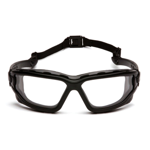 Pyramex I Force CLEAR Dual Anti Fog Lenses Safety Glasses Goggles Z87+ SB7010SDT