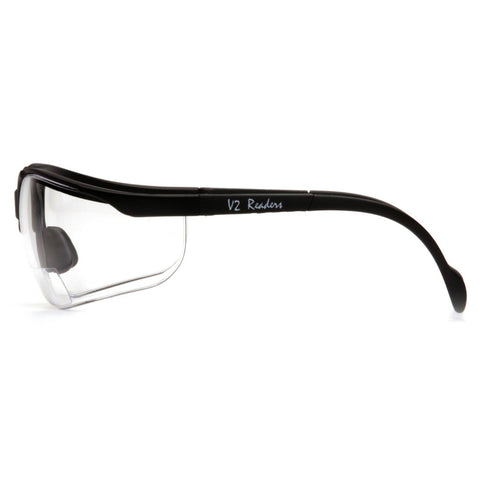 PYRAMEX V2 Venture II Bifocal Readers Safety Glasses +1.5/2.0 SB1810R15/SB1810R20