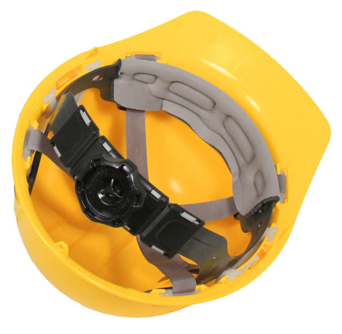 Dewalt Hard Hat Cap Style 6 Point Ratchet Suspension YELLOW DPG11-Y