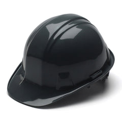 Pyramex Hard Hat BLACK CAP STYLE With 4 Point Ratchet Suspension, HP14111 - US Safety Supplies