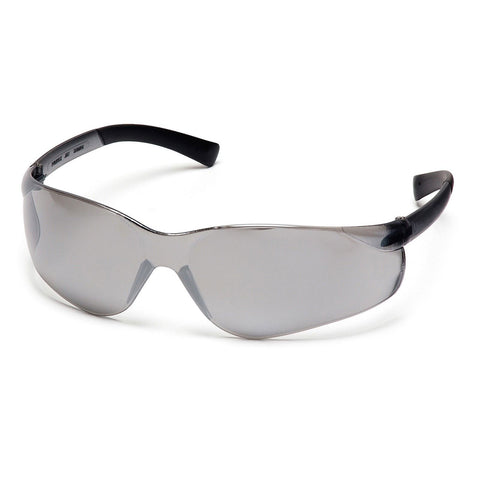 PYRAMEX SAFETY S2570S Ztek Safety Glasses, Silver Mirror Lens