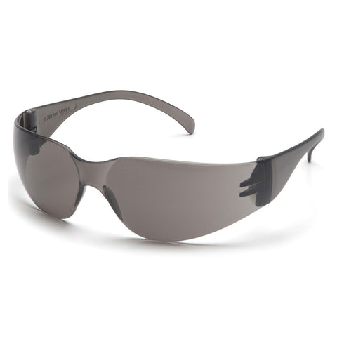 PYRAMEX SAFETY S4120S INTRUDER Safety Glasses GRAY Frameless