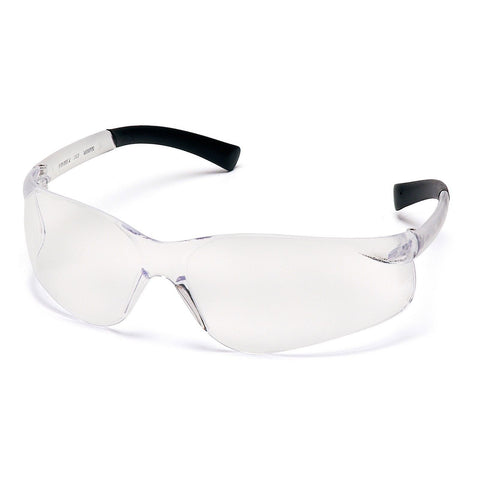 PYRAMEX SAFETY S2510ST Ztek Safety Glasses, CLEAR Lens Anti Fog