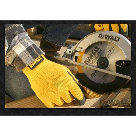 DeWalt Textured Rubber Coated Work Gloves Grip DPG70