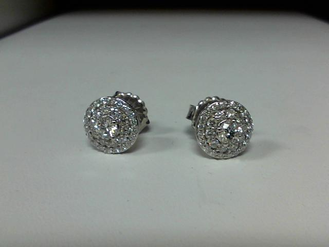 CUSTOM MADE LADIES DIAMOND STUD EARRRING