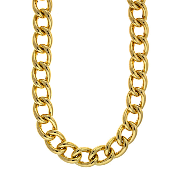 14KT Yellow Large Link 17.5mm