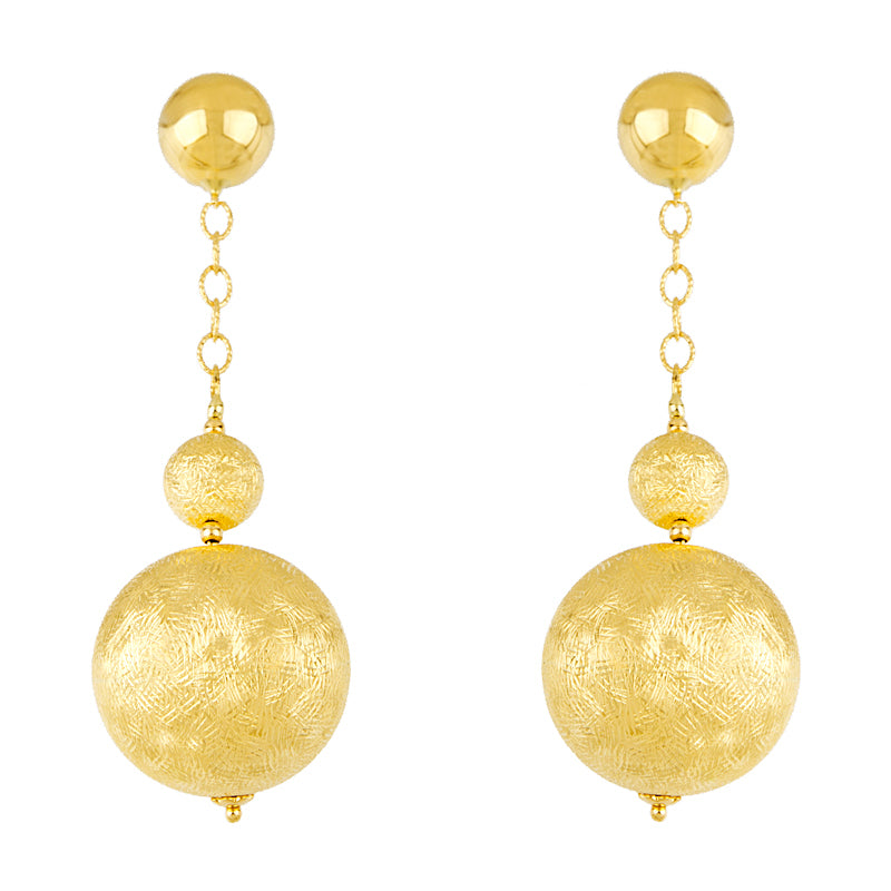14KT Yellow With Balls