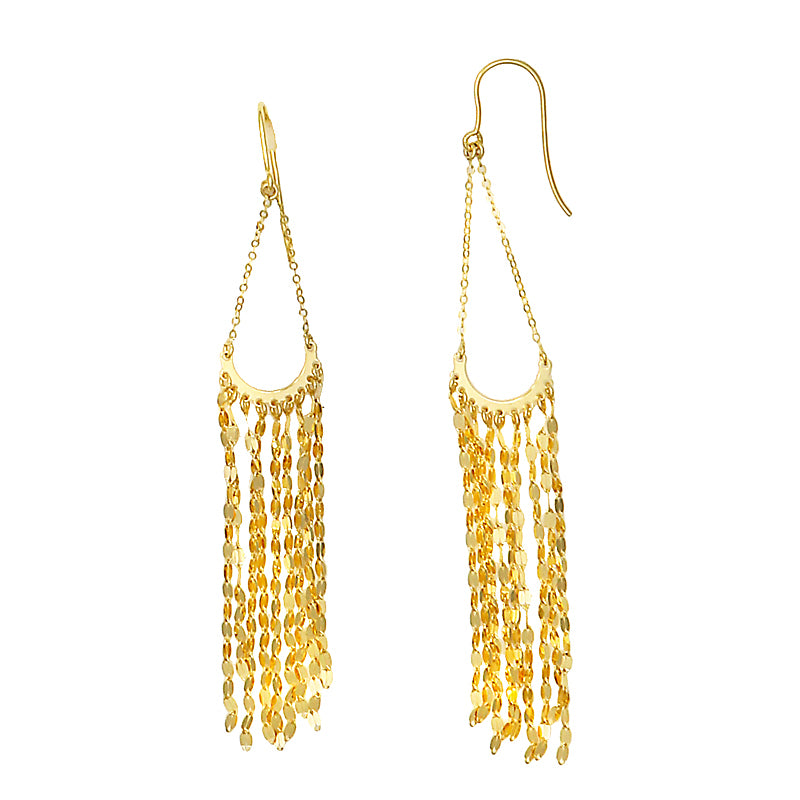 14KT Yellow Earrings