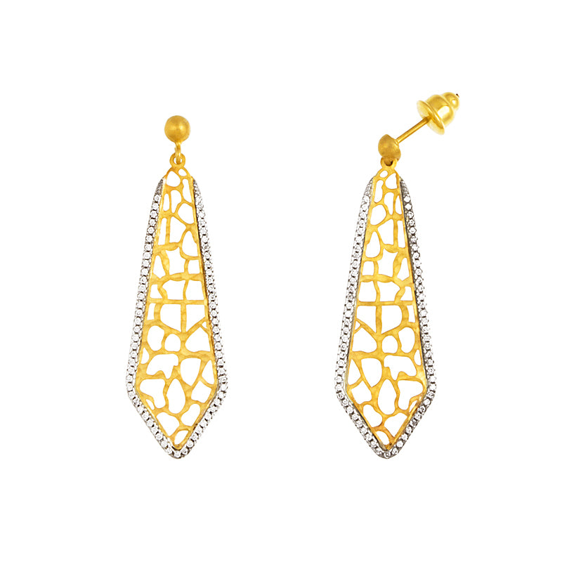 14KT Yellow Earrings Patterns