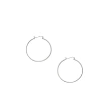 Load image into Gallery viewer, 10K Gold 1.5x40mm Hoop Earring