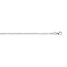 Load image into Gallery viewer, Silver 1.8mm Rolo Chain