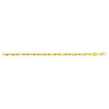 Load image into Gallery viewer, 14K Gold 5mm Figarope Chain
