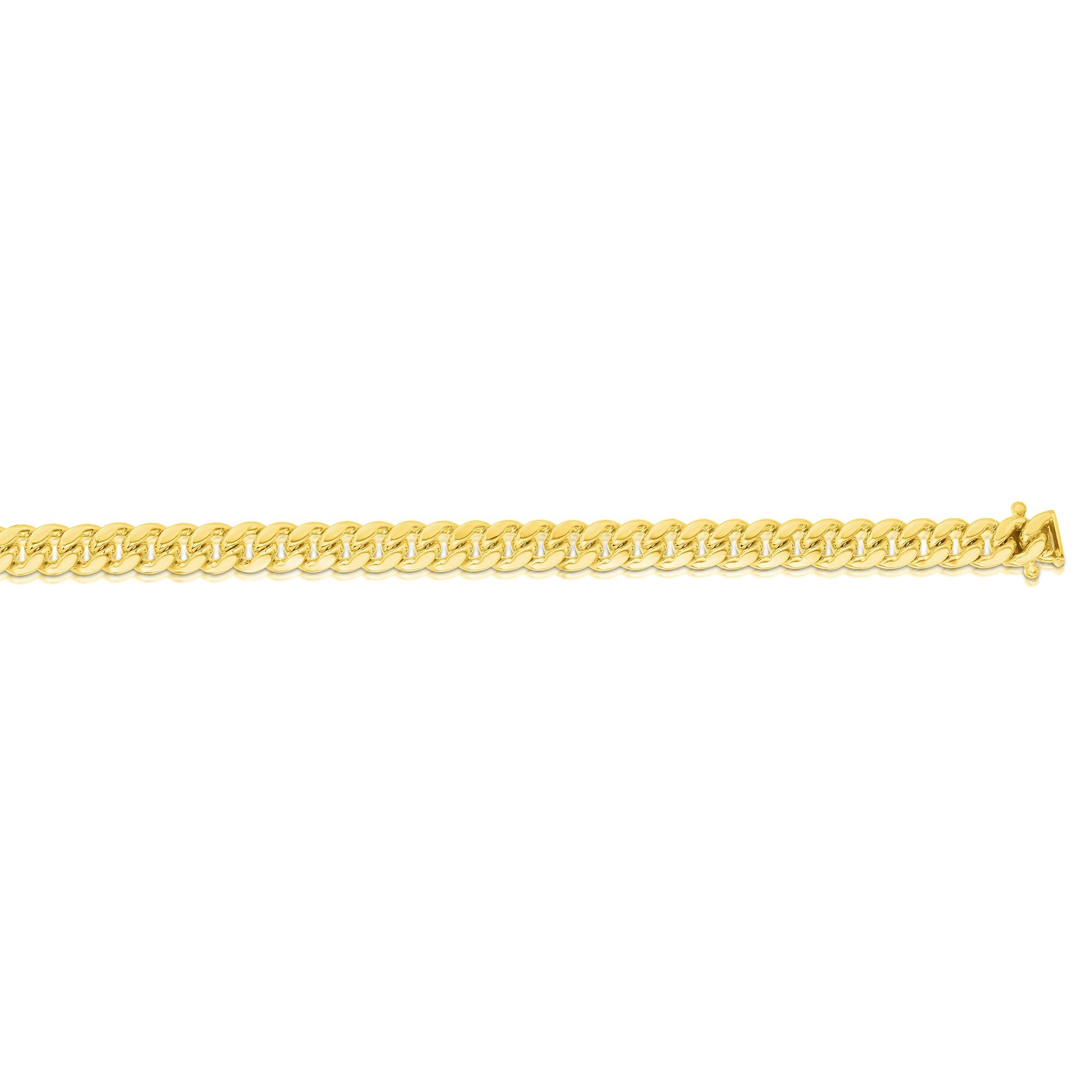 14K Gold 5mm Classic Miami Cuban
