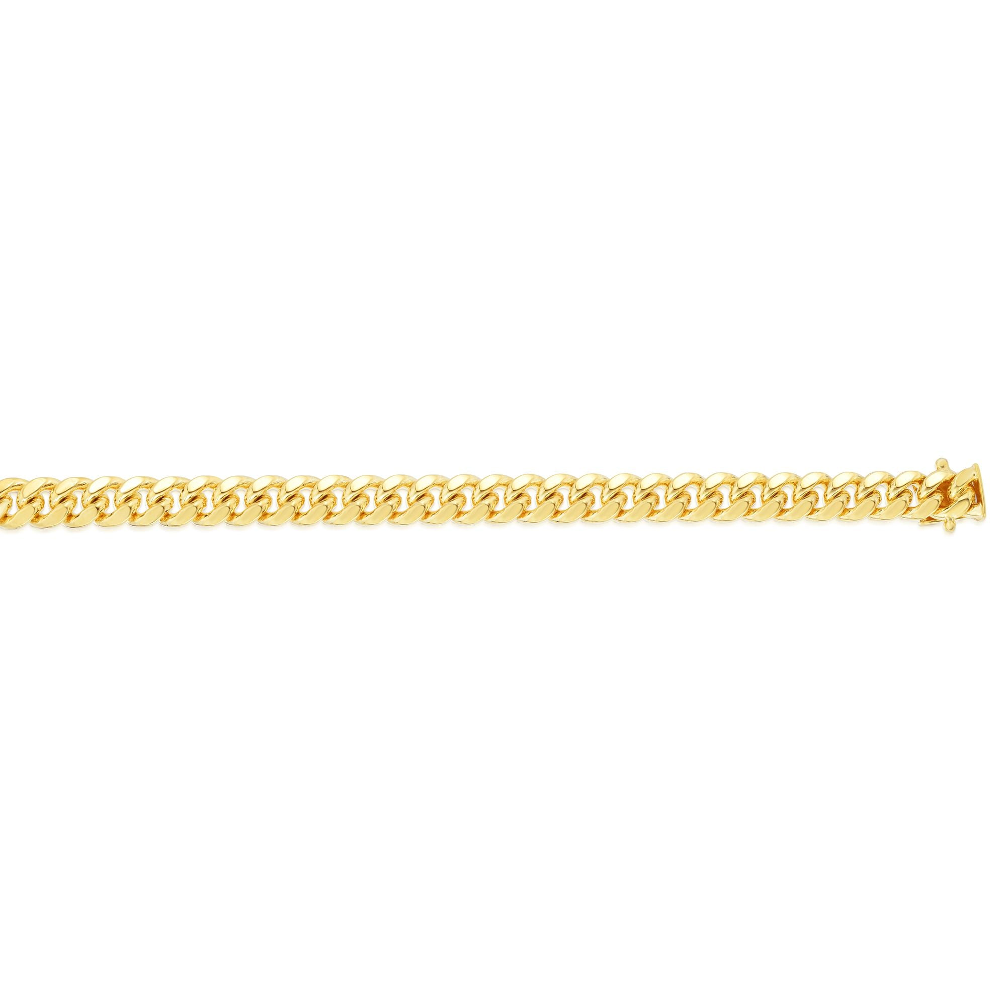 14K Gold 7mm Classic Miami Cuban