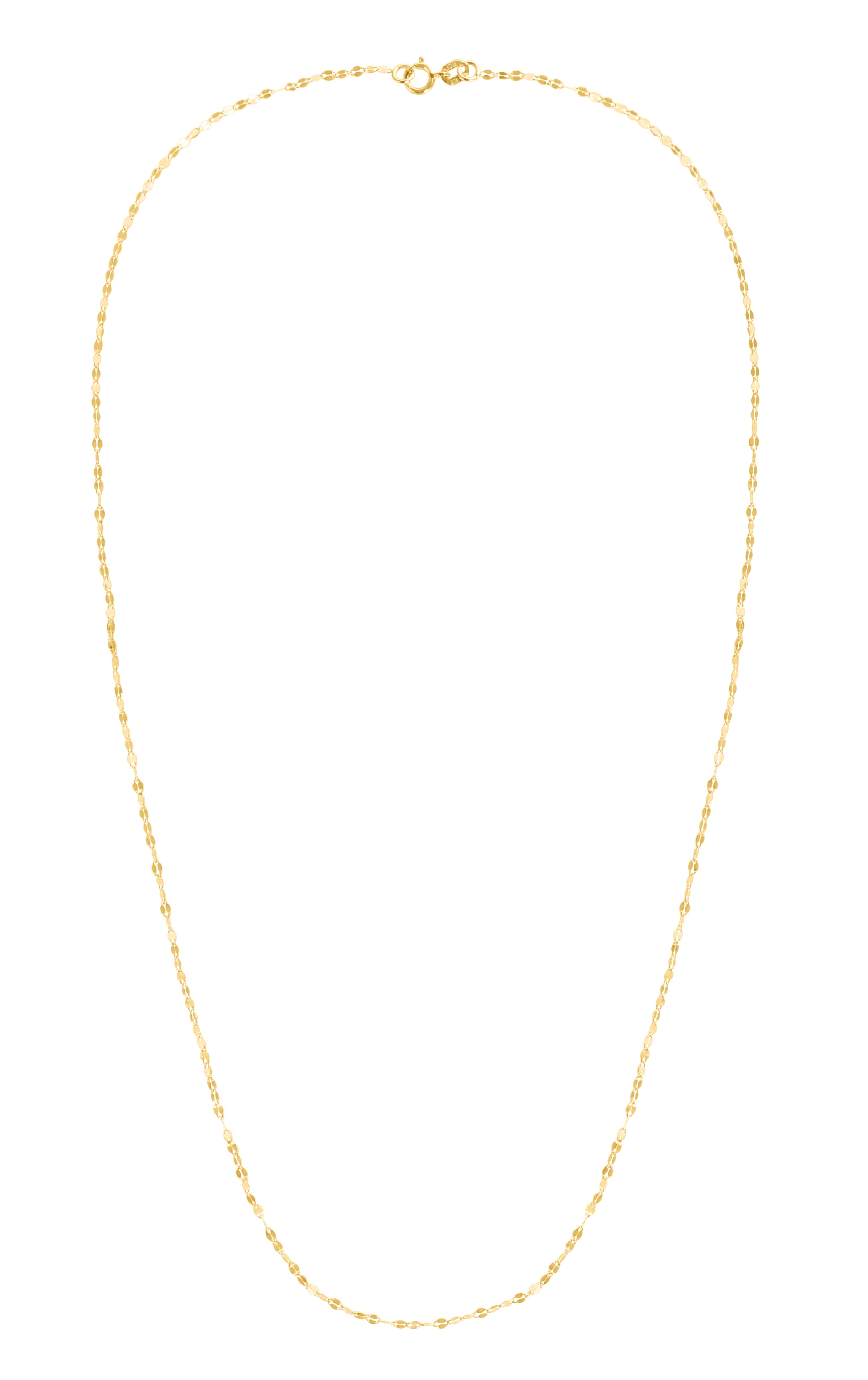 14K Gold 1.4mm Mirror Rolo Chain