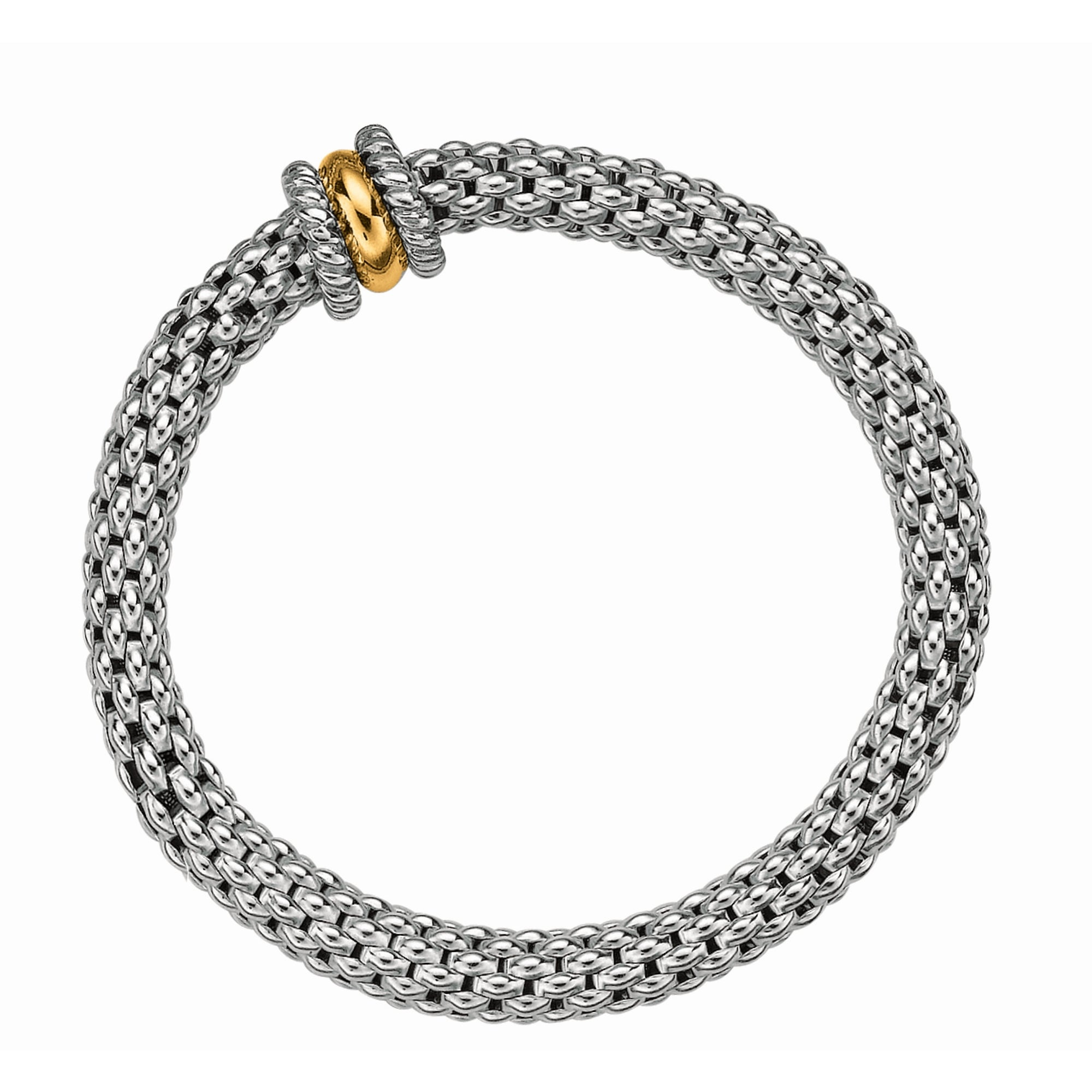Phillip Gavriel 18K Yellow Gold & Sterling Silver Bracelet