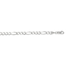 Load image into Gallery viewer, 14K Gold 4.6mm Figaro Chain