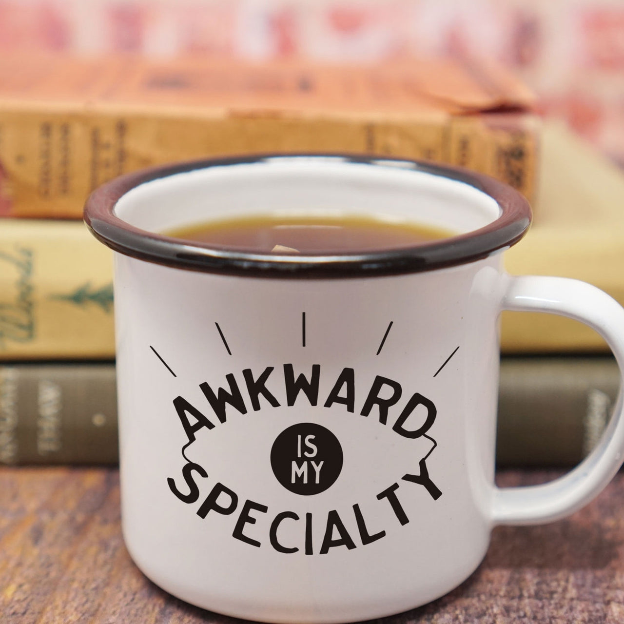 Awkward is My Specialty - Funny and Nerdy Introvert Mug-Enamel Co.