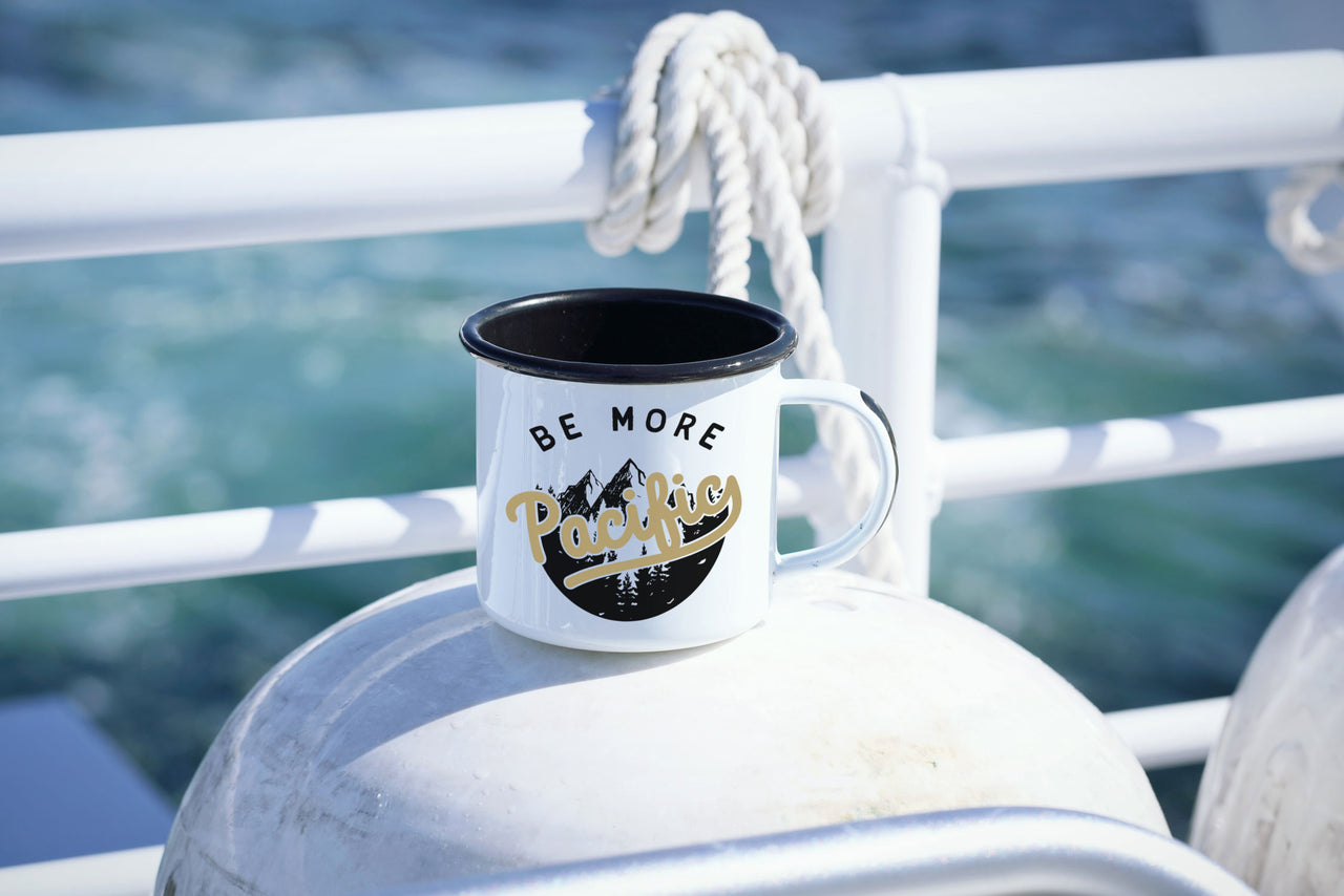 Be More Pacific - PNW Camping Mug