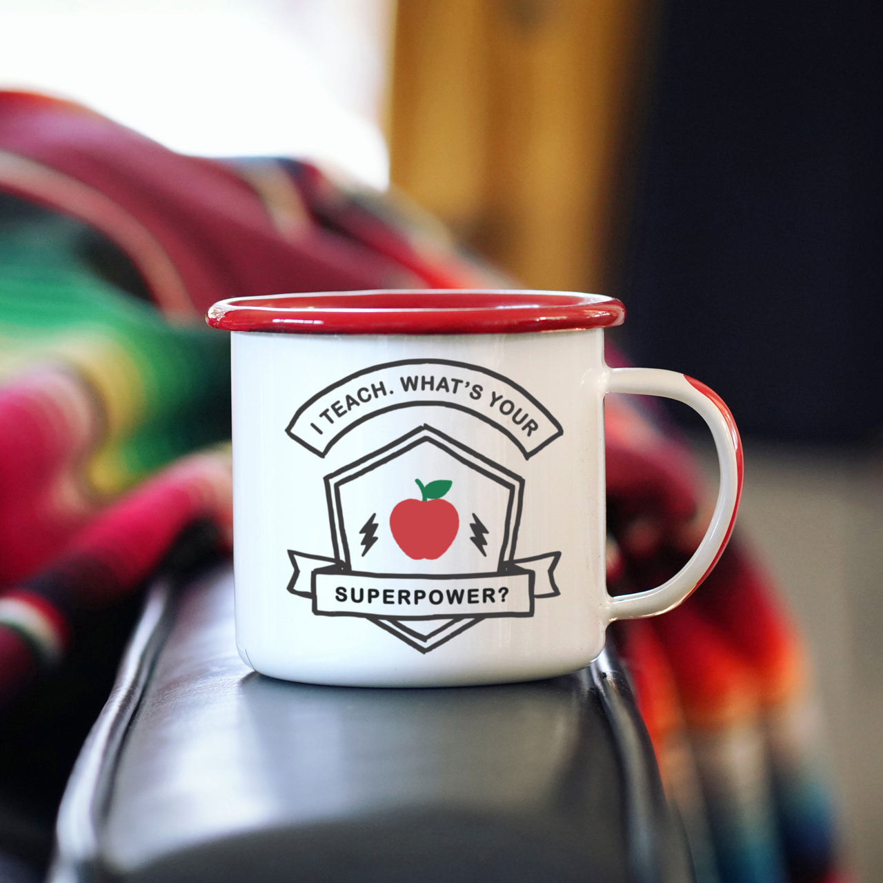 I'm a Teacher, What's Your Superpower? - Camp Mug