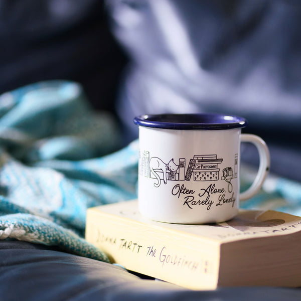 Often Alone, Rarely Lonely: An Introvert's Camp Mug
