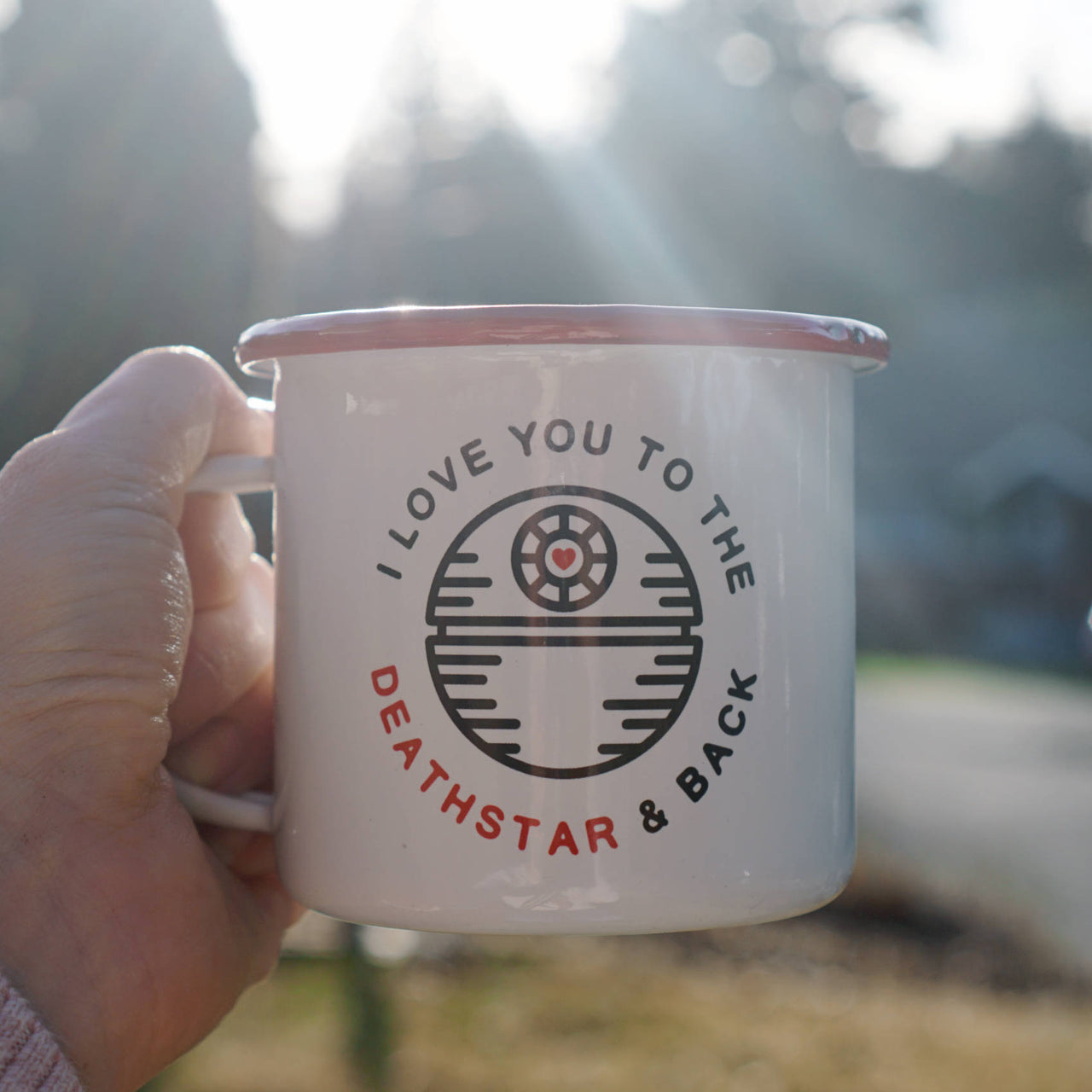 Love You to the Deathstar and Back Star Wars Camp Mug