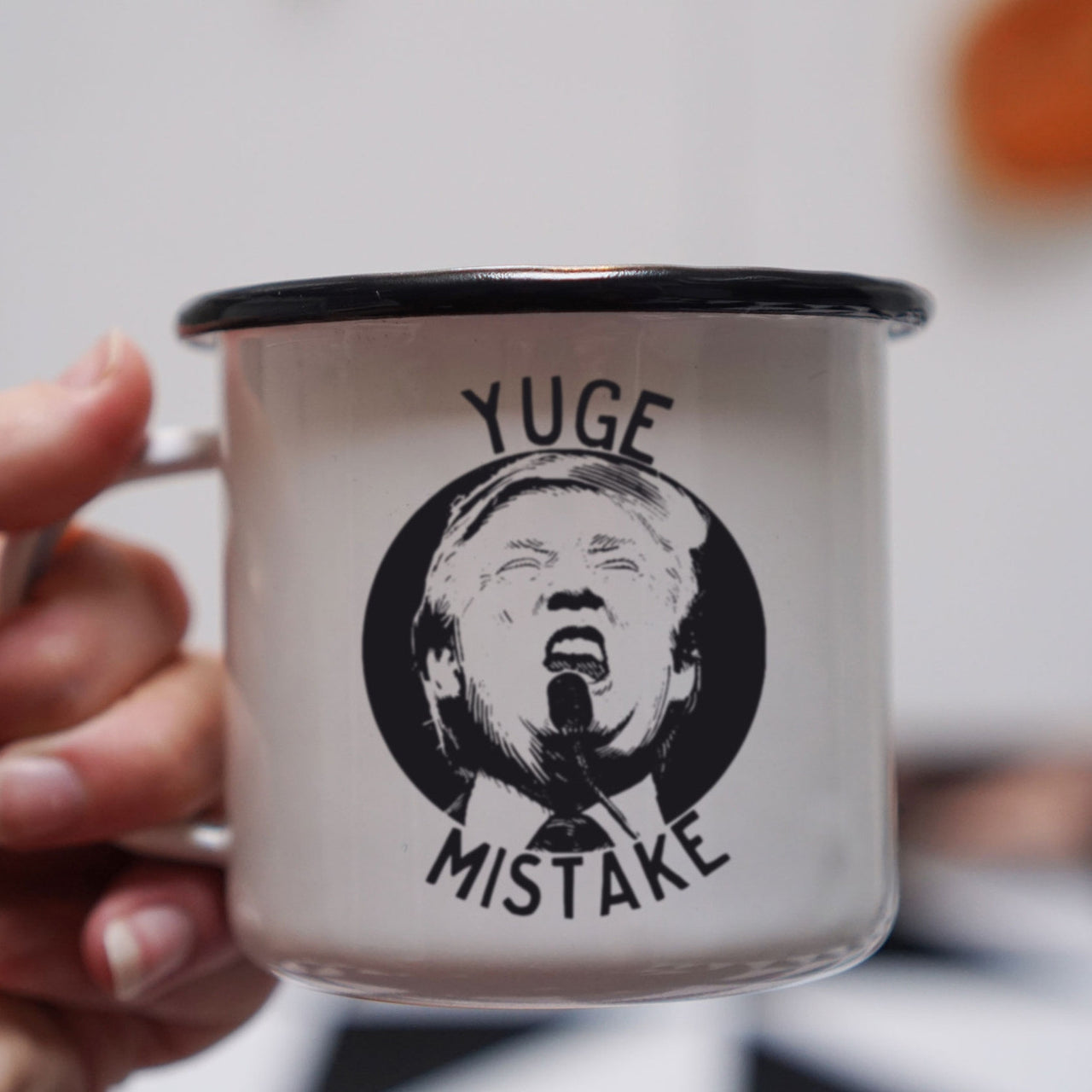 Yuge Mistake Anti Trump Mug