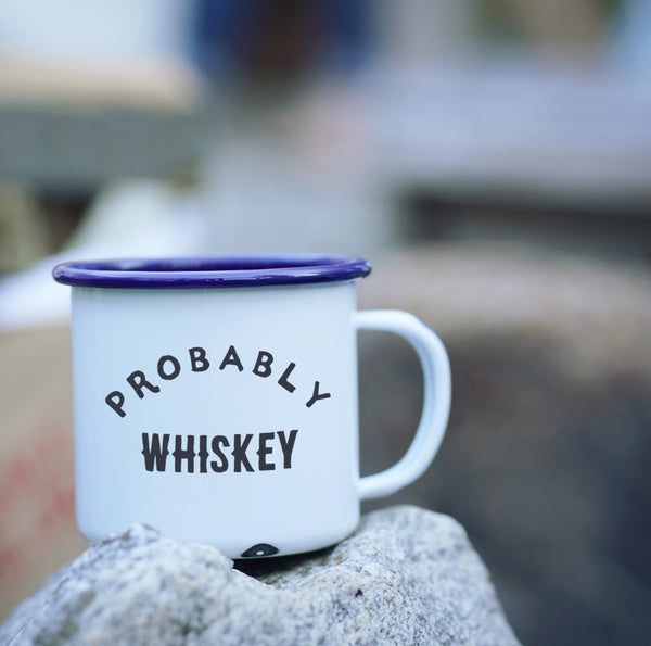 Probably Whiskey Camp Mug