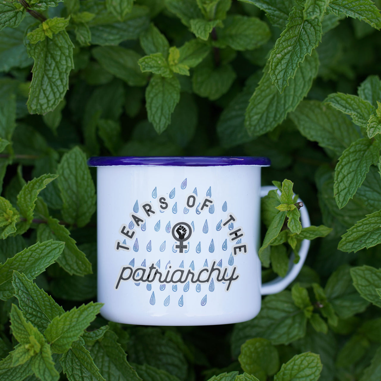 Tears of the Patriarchy - Feminist Camp Mug