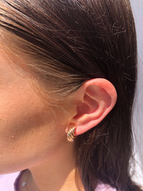 Gold Clip-on