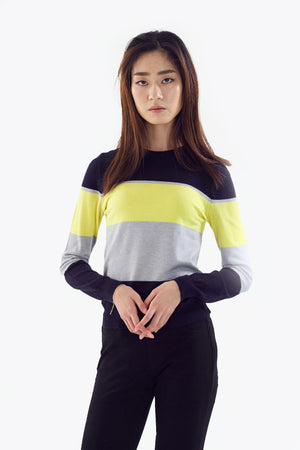 colorblock top
