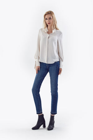 bishop tie sleeve blouse