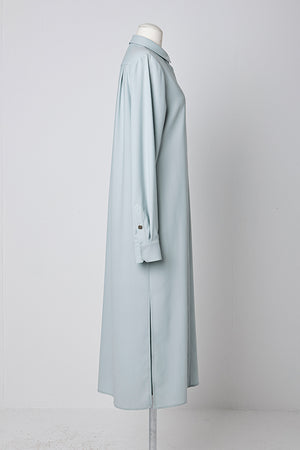 Slit One-Piece Style Long Shirt in Mint