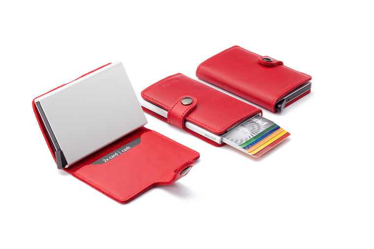 Red Mini Wallet