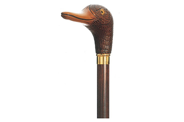 Mallard Walking Stick