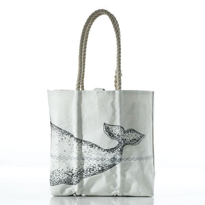 Recycled Sail Cloth Whale Tote