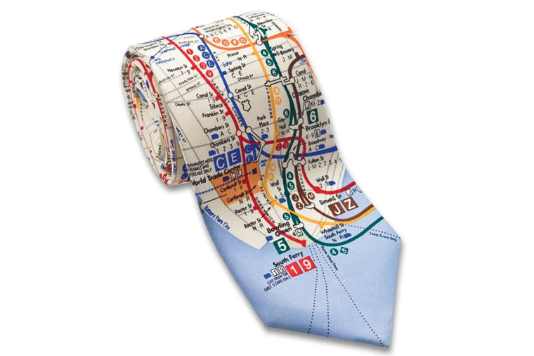 Periodic Table Silk Necktie